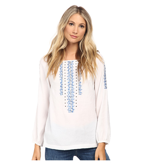 Nanette Lepore - Sunrise Top (White) Women's Clothing