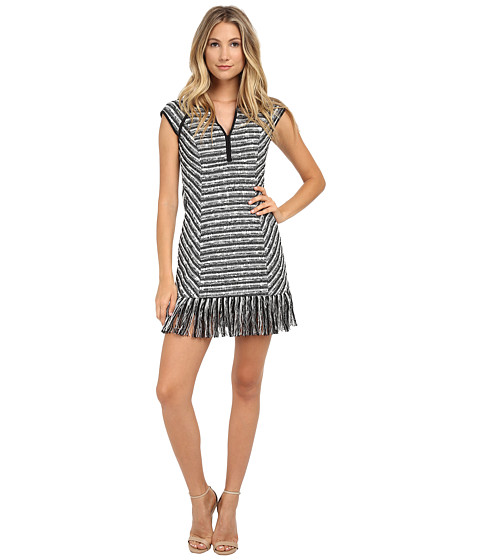 Nanette Lepore - Lawless Frock (Black/Ivory) Women's Dress