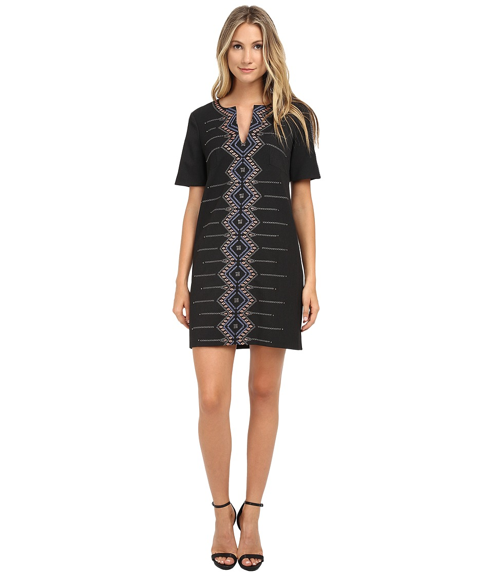 Nanette Lepore - Outta Sight Shift (Grey Multi) Women's Dress