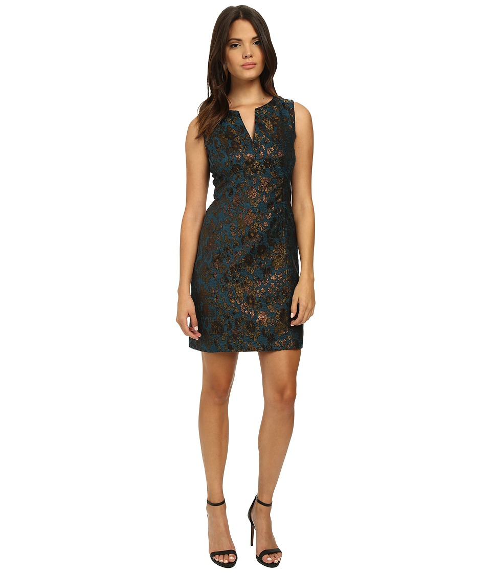 Nanette Lepore - It Girl Shift (Dark Teal) Women's Dress
