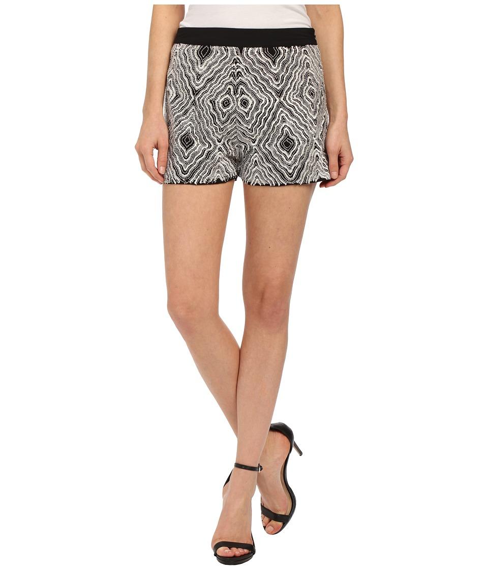 KAS New York - Anbar Shorts (Black/White) Women's Shorts