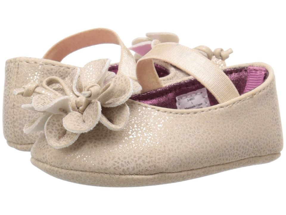 Baby Deer - Skimmer Ballet (Infant) (Champagne) Girls Shoes