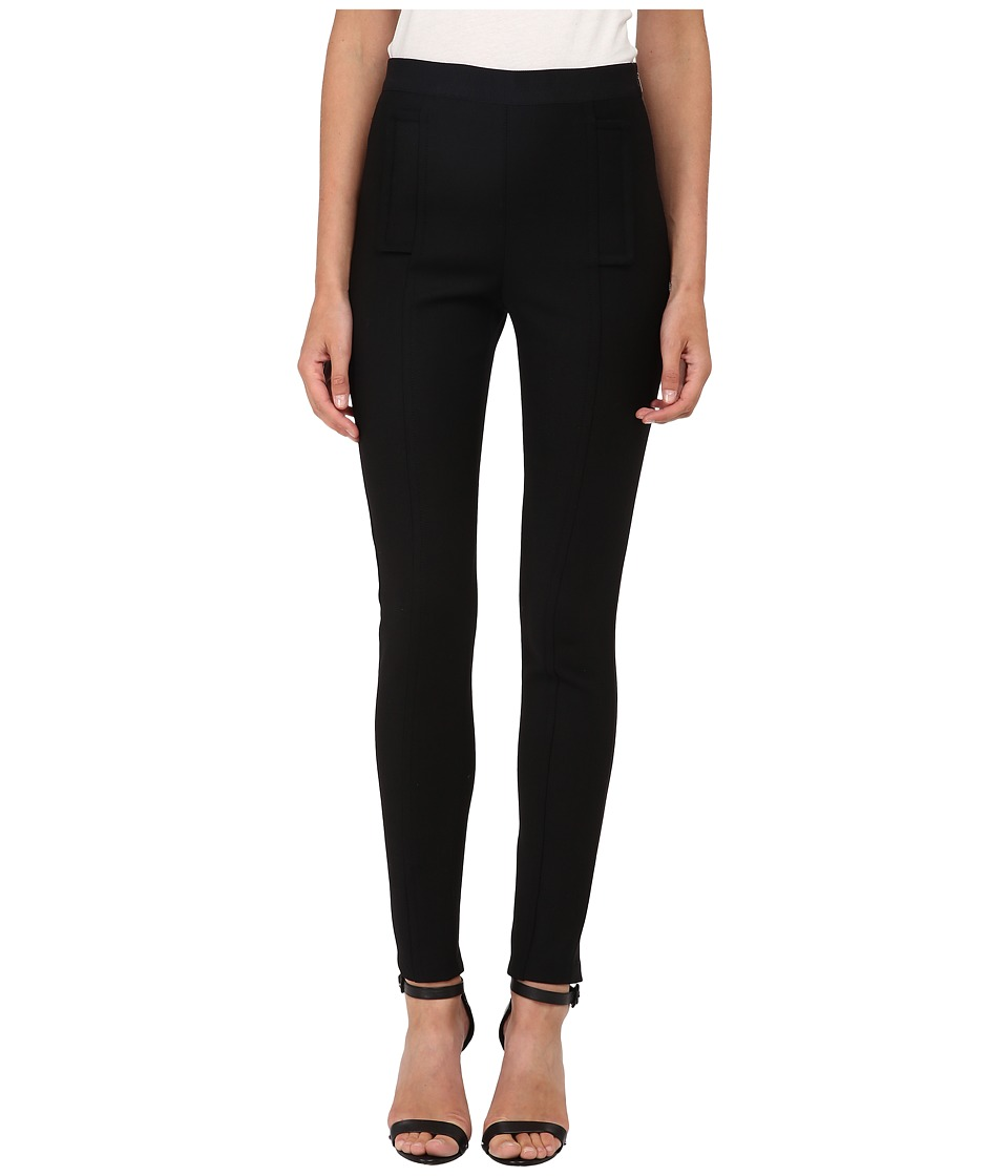 Neil Barrett - Stitched Military Leggings (Black) Women's Casual Pants