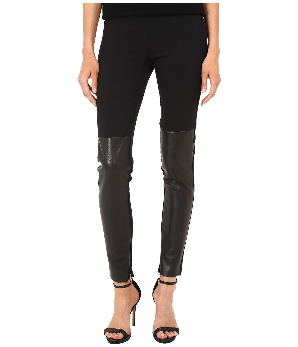 Neil Barrett - Stitched Darts Leggings (Black) Women's Casual Pants