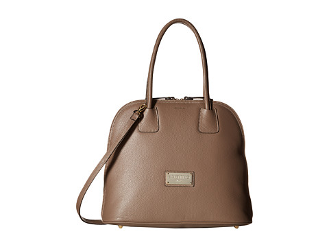 Valentino Bags by Mario Valentino - Ally (Taupe) Satchel Handbags