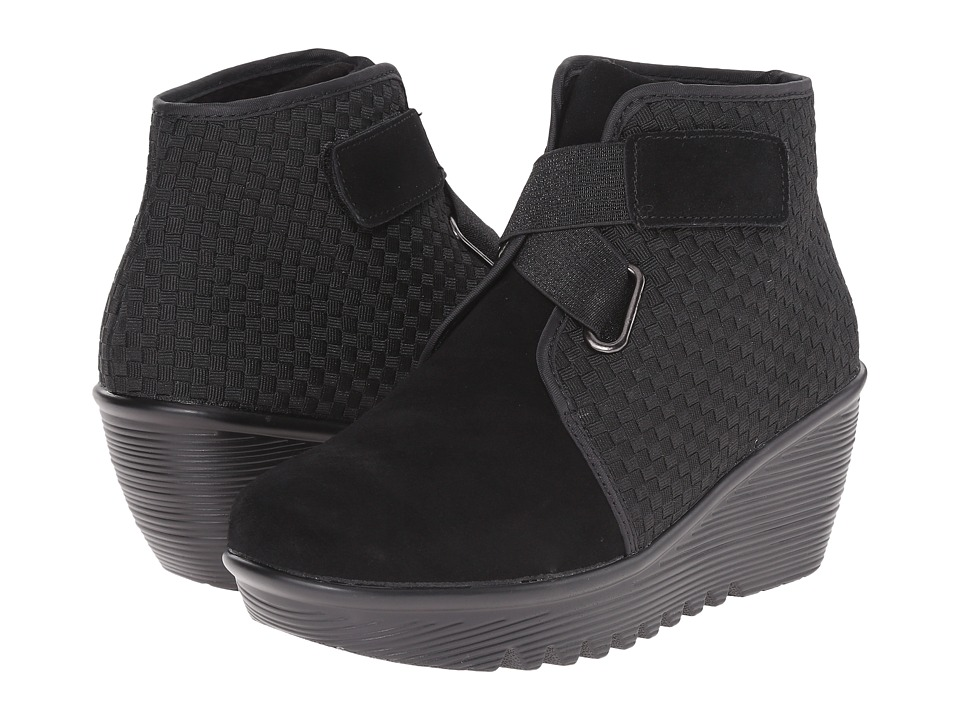 bernie mev. - Mevin (Black) Women's Wedge Shoes