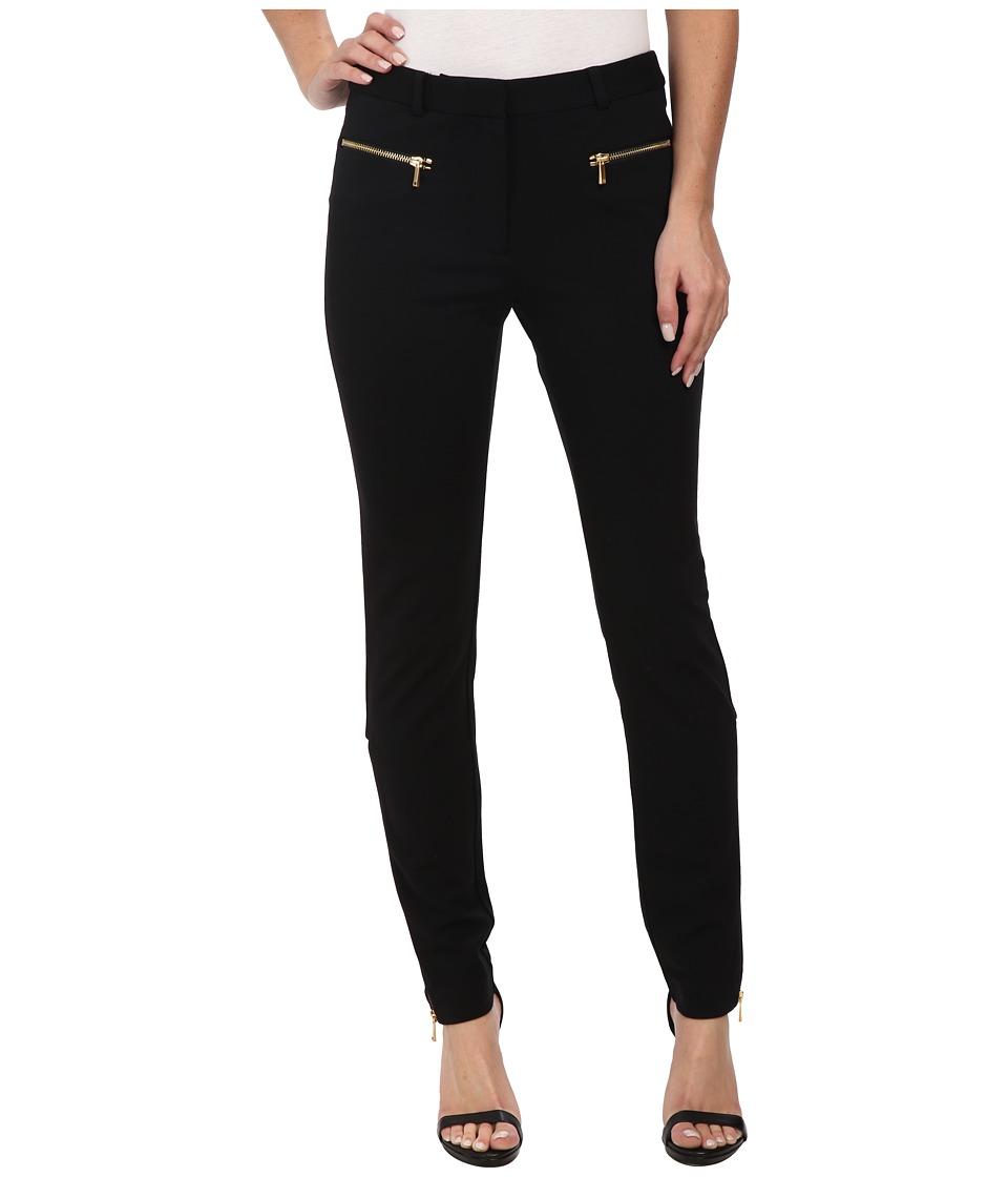 Rachel Zoe - Sab Ponte Zipper Pants (Black) Women's Casual Pants