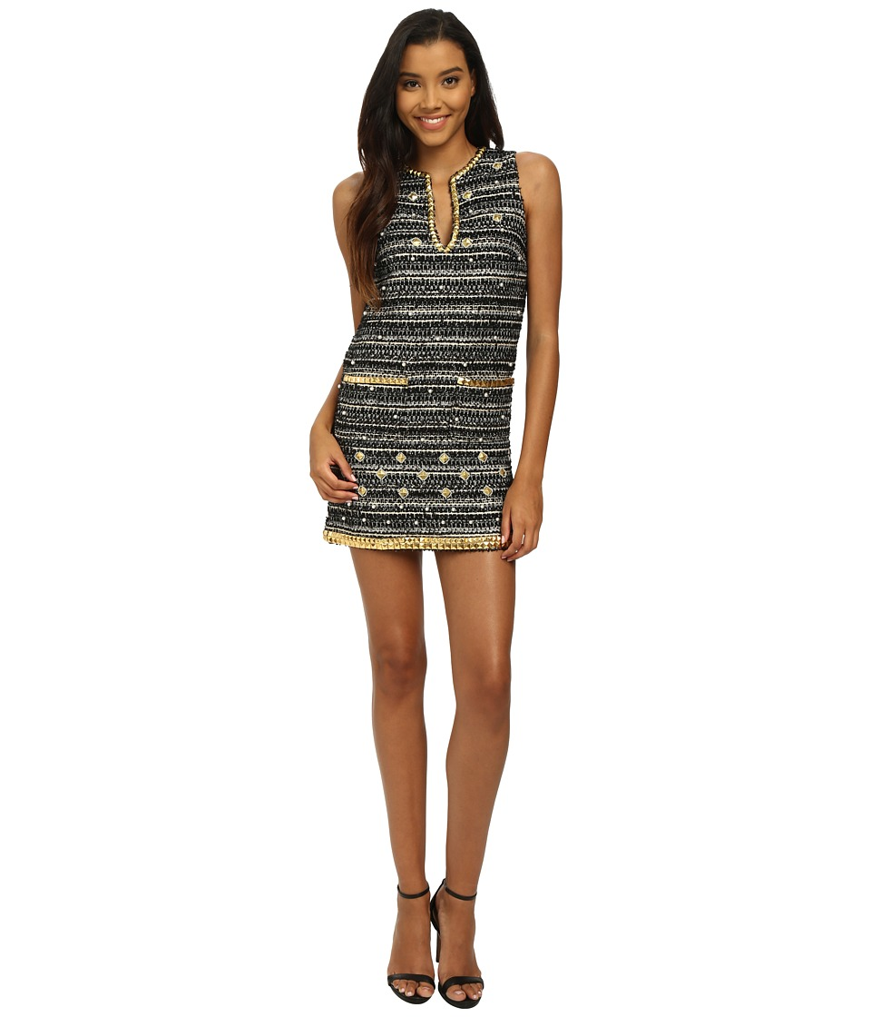 Rachel Zoe - Velma Tweed Dress (Multi) Women's Dress