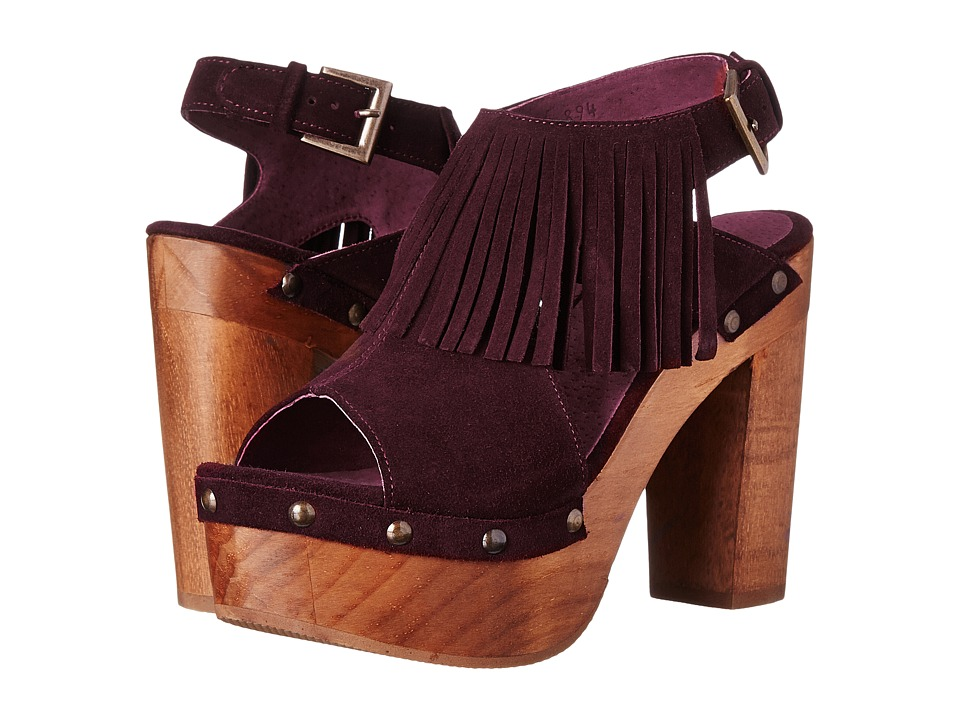 Cordani Tijuana (Wine Suede) High Heels