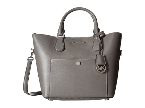 MICHAEL Michael Kors - Greenwich Large Grab Bag (Steel Grey/Pearl Grey) Bags