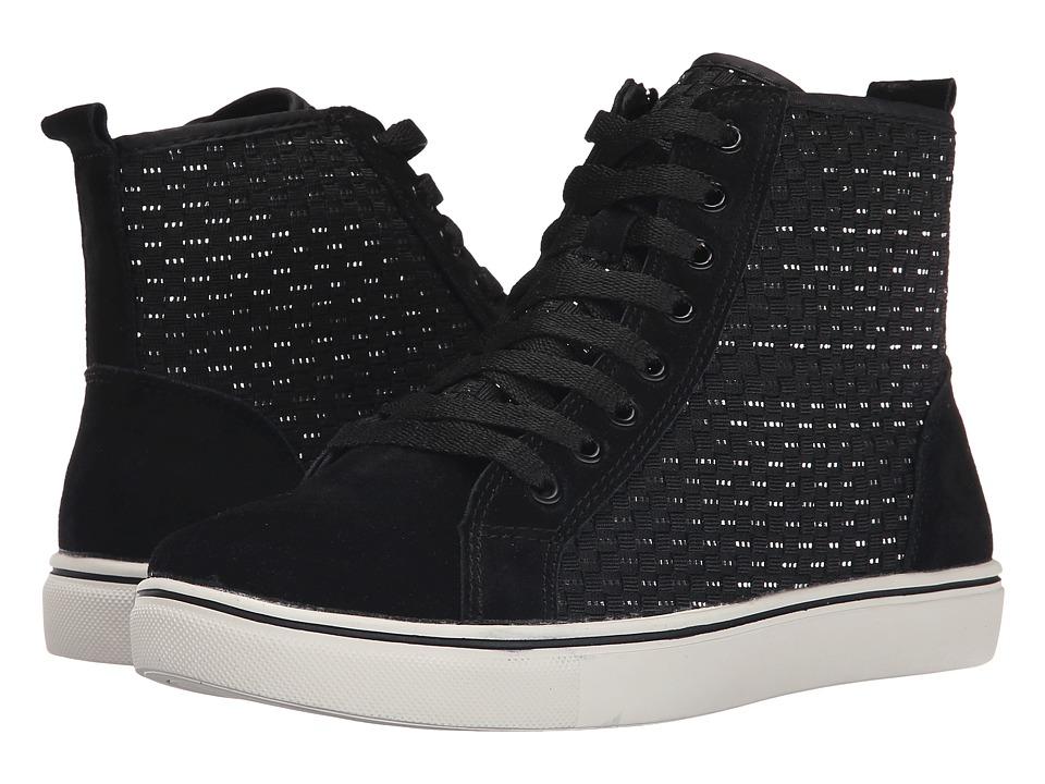 bernie mev. - Classics (Black/Silver) Women's Lace up casual Shoes