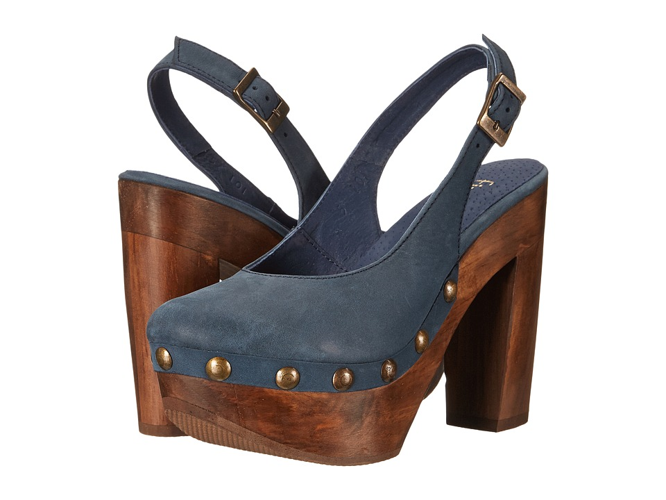 Cordani - Texas (Blue Nubuck) High Heels