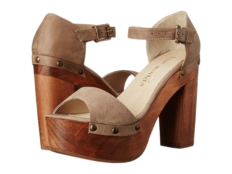 Cordani - Tulum (Bisque Nubuck) High Heels