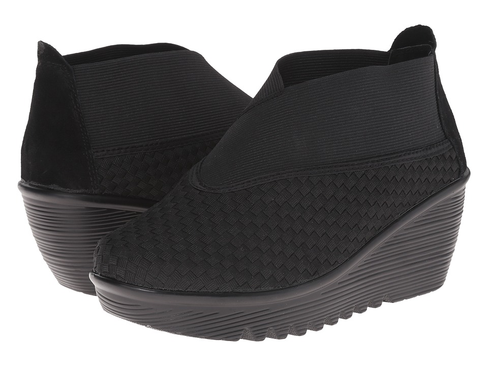 bernie mev. - Hush (Black) Women's Wedge Shoes
