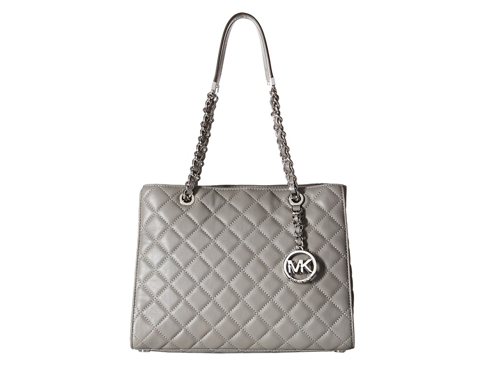 MICHAEL Michael Kors - Susannah Medium Tote (Steel Grey) Tote Handbags