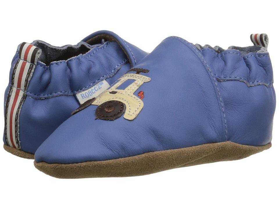 Robeez - Lil Off Roader Soft Sole (Infant/Toddler) (Ocean Blue) Boys Shoes