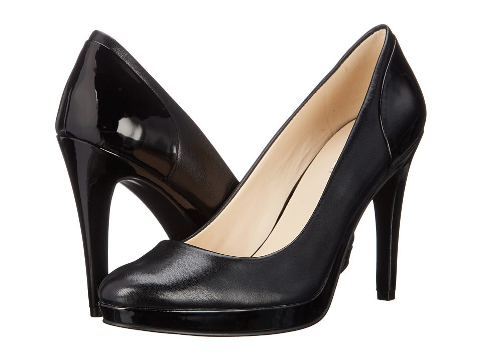 Nine West - Inlove (Black/Black Leather) High Heels