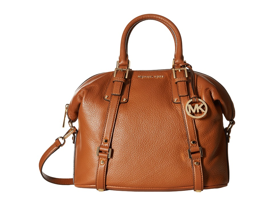 MICHAEL Michael Kors - Bedford Belted Large Satchel (Luggage) Satchel Handbags
