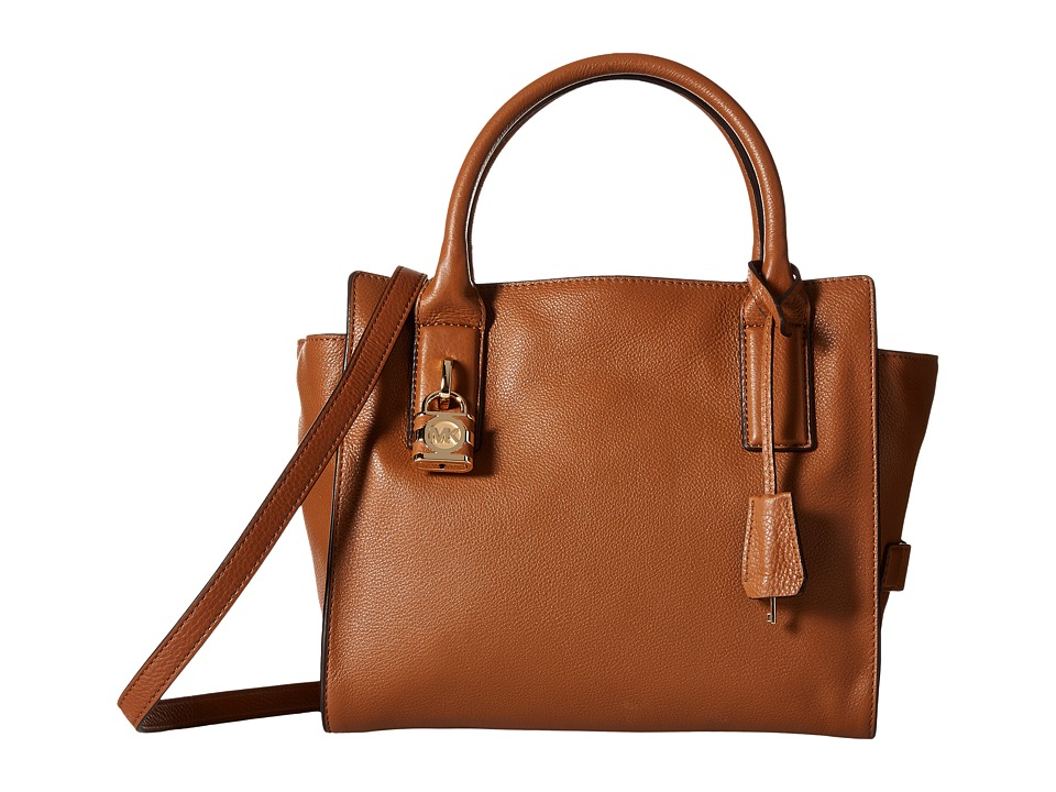 MICHAEL Michael Kors - Mckenna Medium Satchel (Walnut) Satchel Handbags