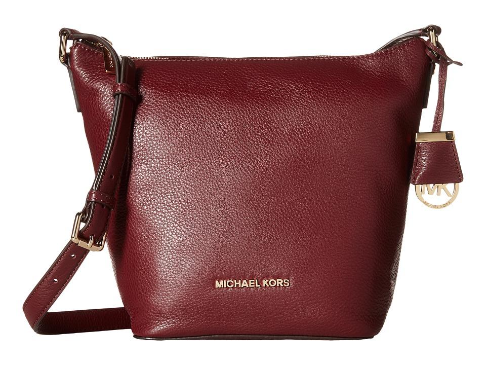MICHAEL Michael Kors - Bedford Medium Messenger (Merlot) Messenger Bags