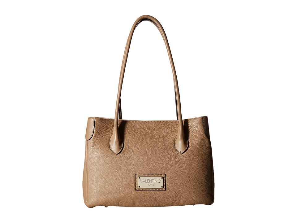 Valentino Bags by Mario Valentino - Lara (Taupe) Tote Handbags