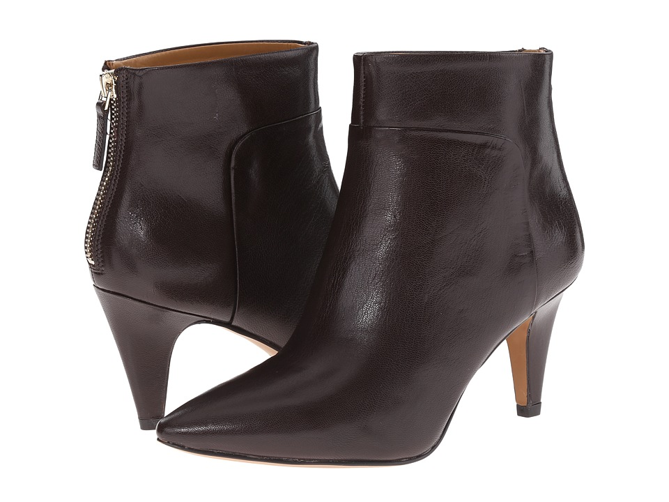 nine west jinxie brown leather s boots