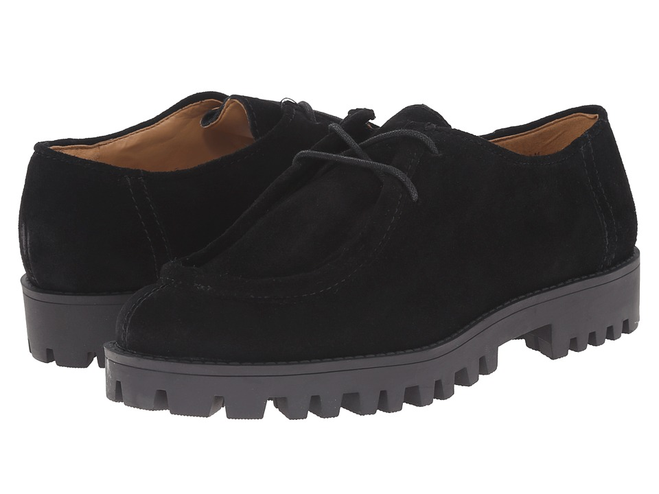 Nine West - Jellyfish (Black Suede) Women's Lace up casual Shoes