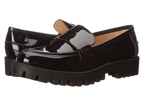 Nine West - Juniper (Black Synthetic) Women's Slip on Shoes