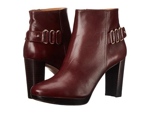 Nine West - Kali (Dark Red Leather) Women's Boots