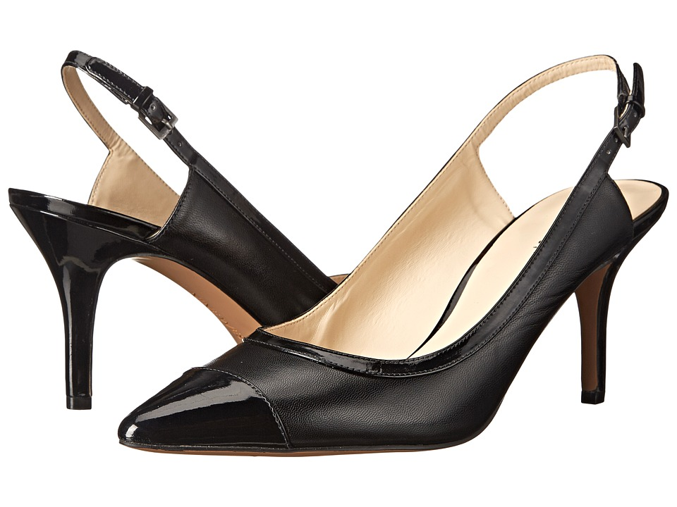 Nine West - Kasai (Black/Black Leather) High Heels