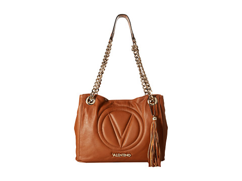 Valentino Bags by Mario Valentino - Luisa 2 (Whiskey) Shoulder Handbags