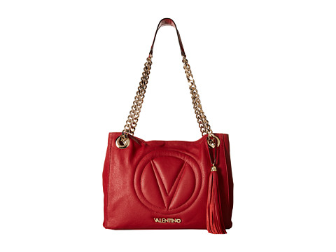 Valentino Bags by Mario Valentino - Luisa 2 (Red) Shoulder Handbags