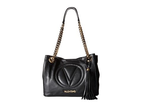 Valentino Bags by Mario Valentino - Luisa 2 (Black) Shoulder Handbags
