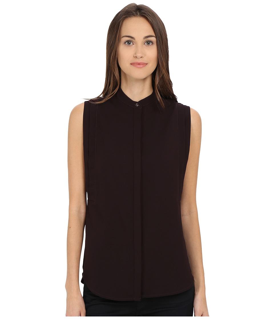 Paul Smith - Sleeveless Shirt (Bordo) Women's Sleeveless