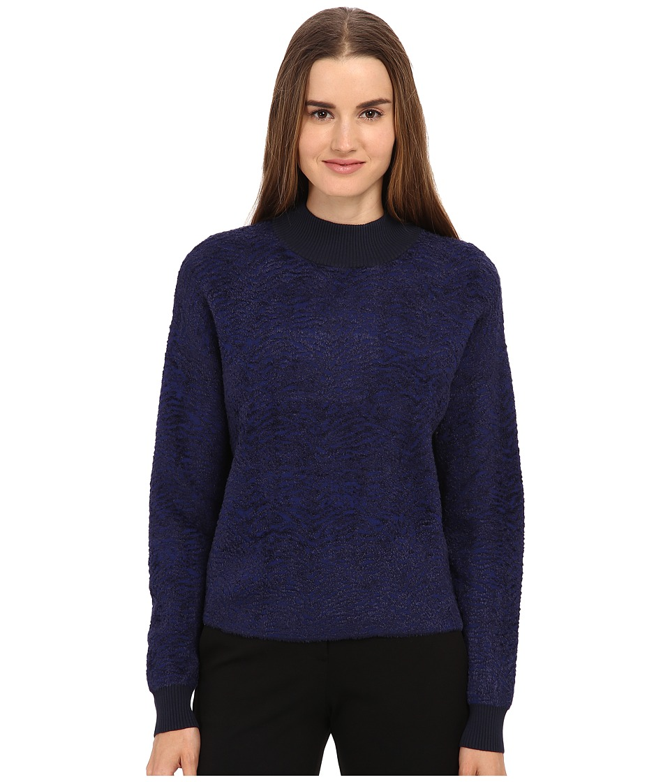 Paul Smith - Textured Sweater (Navy) Girl's Sweater