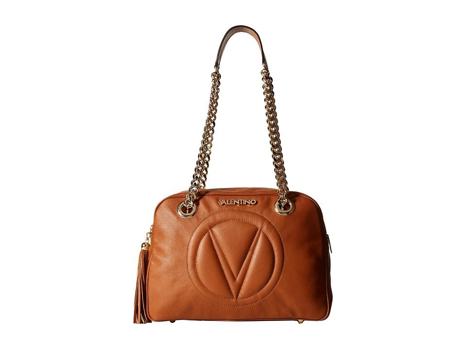 Valentino Bags by Mario Valentino - Madonna (Whiskey) Shoulder Handbags