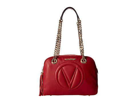 Valentino Bags by Mario Valentino - Madonna (Red) Shoulder Handbags
