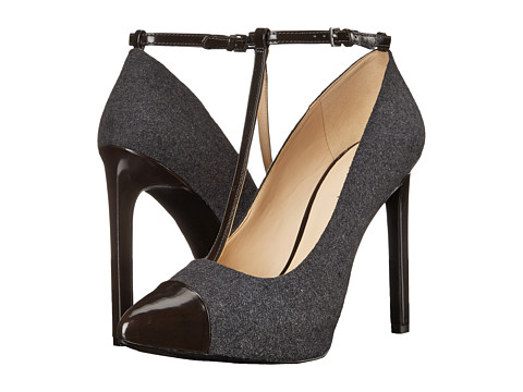 Nine West - Lavish (Dark Grey/Dark Grey Fabric) High Heels