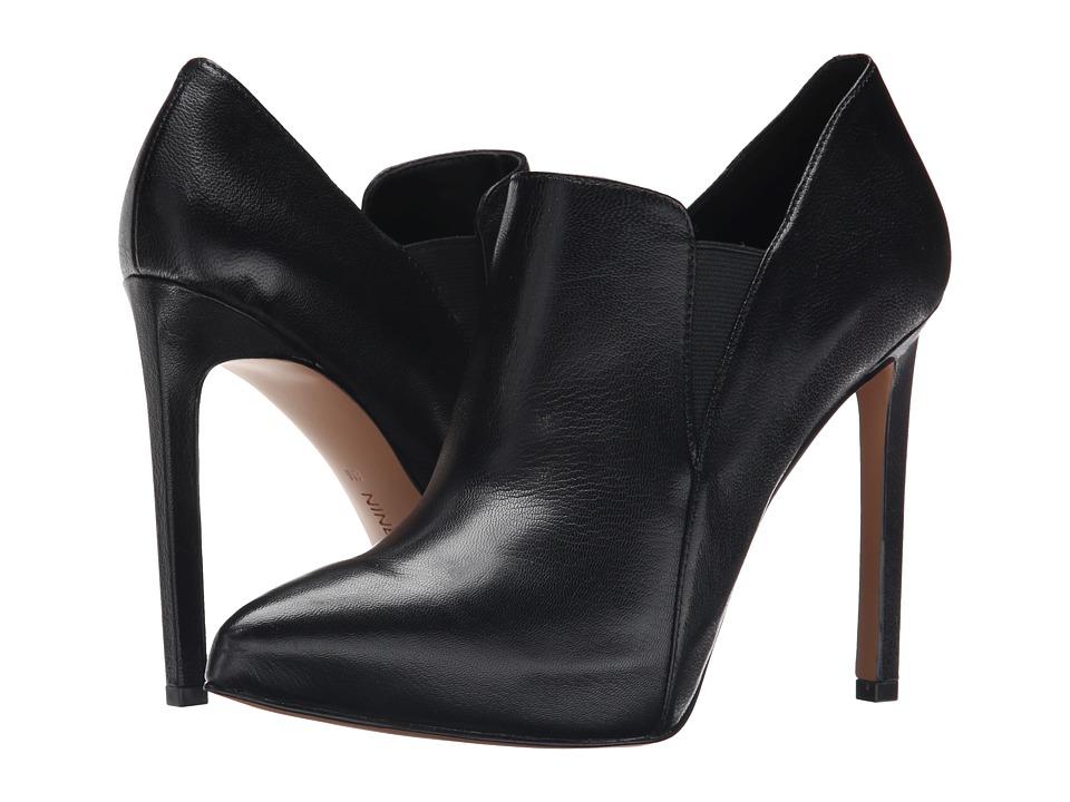 Nine West - Leandra (Black/Black Leather) Women