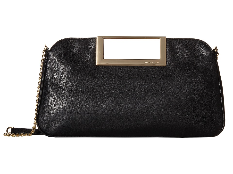 MICHAEL Michael Kors - Berkley Large Clutch (Black) Clutch Handbags