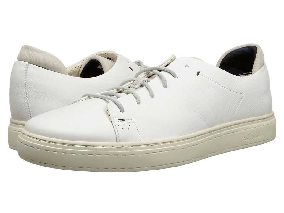 Paul Smith - Mono Lux Bowie Sneaker (White) Men's Shoes