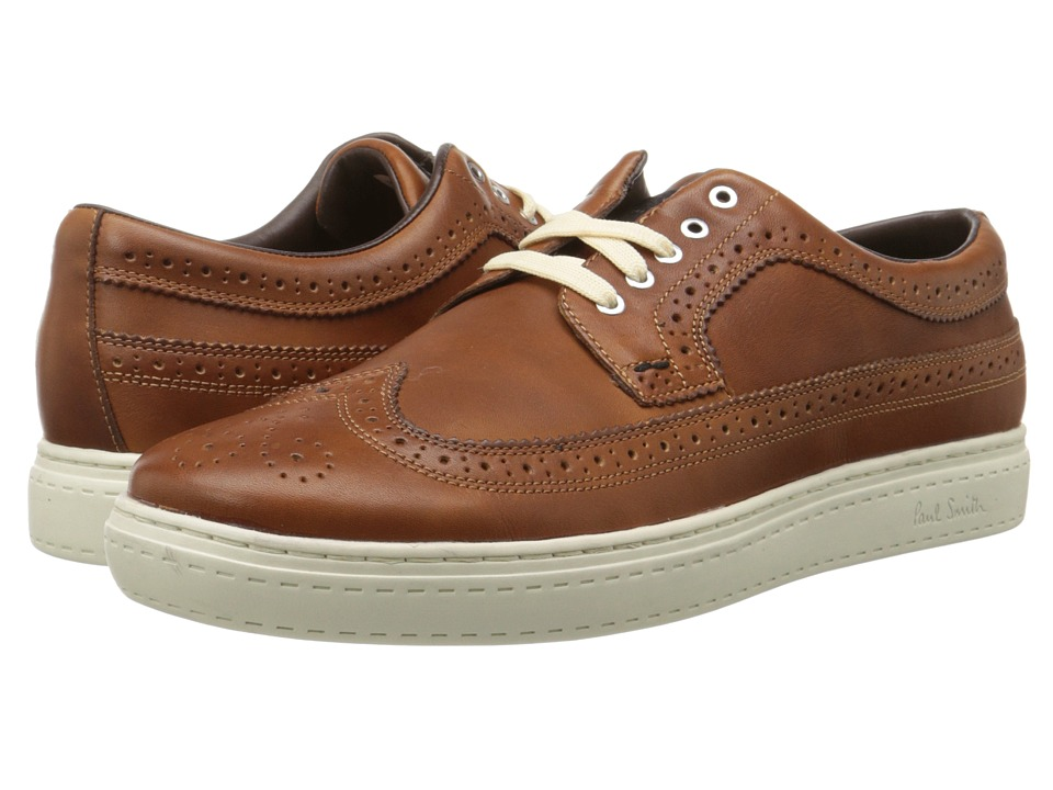 Paul Smith - Milano Crust Merced Sneaker (British Tan) Men's Shoes