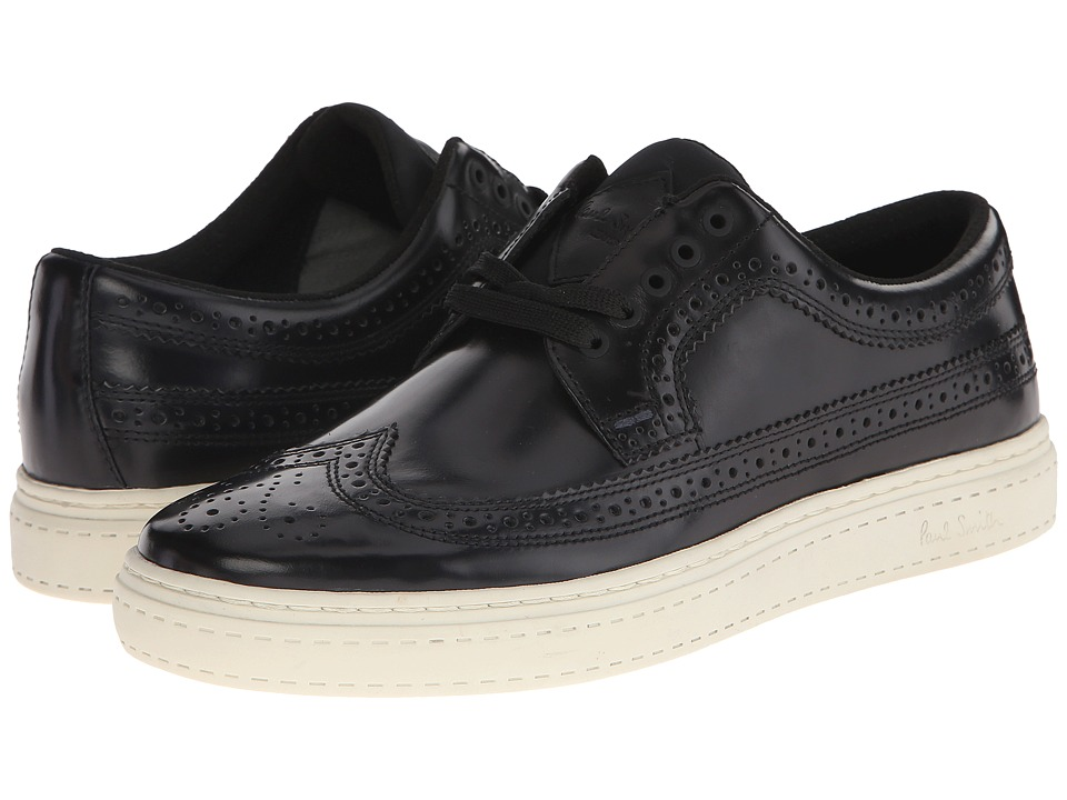 Paul Smith - Ontario Brush-Off Merced Sneaker (Black) Men's Shoes