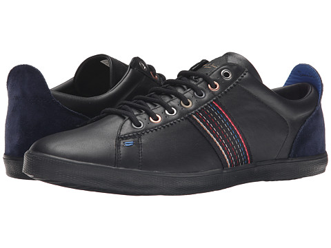 Paul Smith - Mono Lux/Galaxy Suede Osmo Sneaker (Black) Men's Shoes