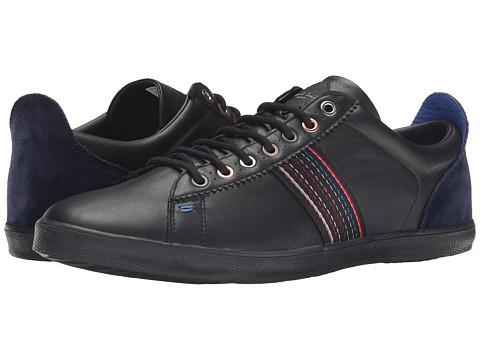 Paul Smith - Mono Lux/Galaxy Suede Osmo Sneaker (Black) Men