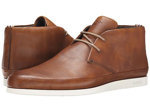 Paul Smith - Milano Crust Loomis Half Boot (British Tan) Men's Boots