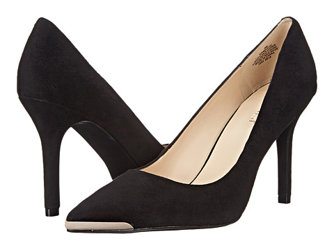 Nine West - Mastic (Black Suede) High Heels