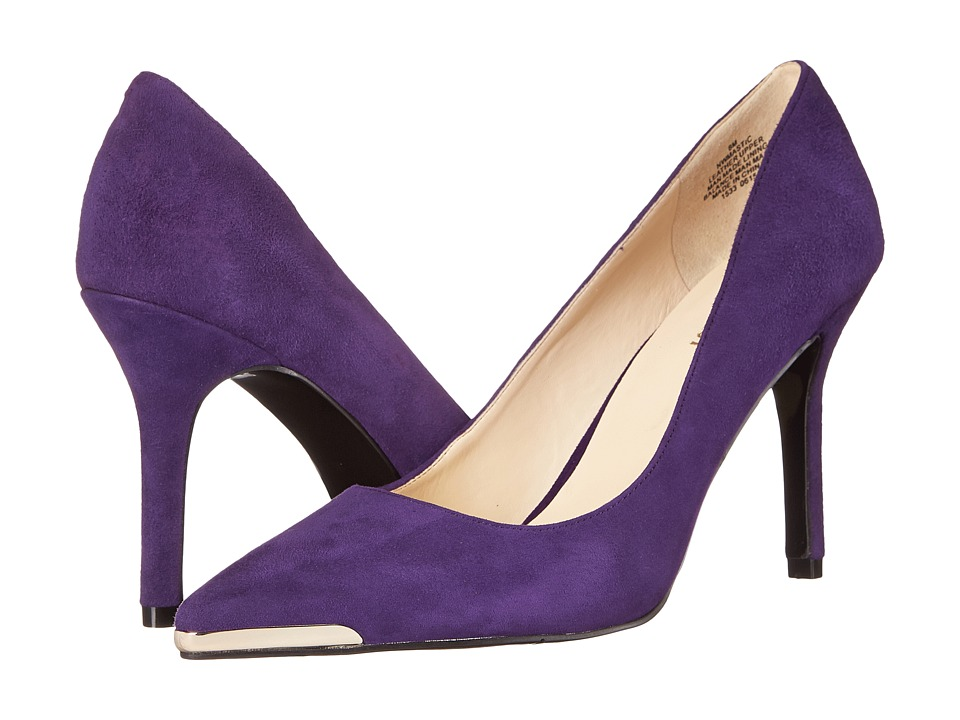 Nine West - Mastic (Purple Suede) High Heels