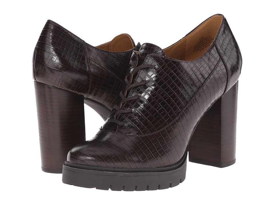 Nine West May (Dark Brown Croco) High Heels