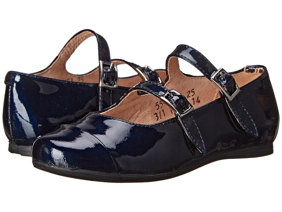 Venettini Kids - 55-Sara (Toddler/Little Kid/Big Kid) (Blue SP Patent) Girl's Shoes